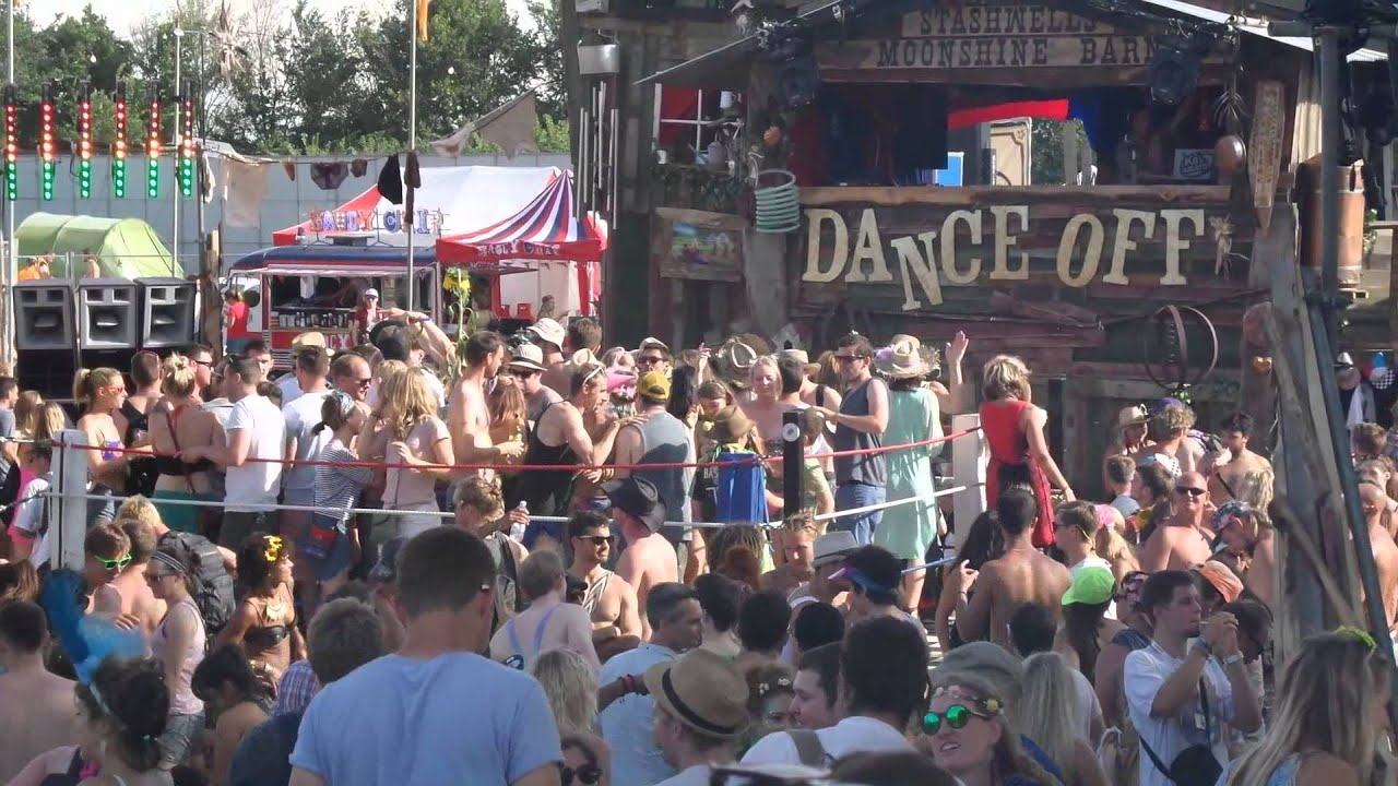 Secret Garden Party 2014 | Dance Off Stage - Dancing - YouTube