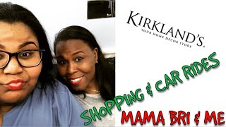 KIRKLANDS HOME DECOR & CAR RIDES| FAMILY VLOGS
