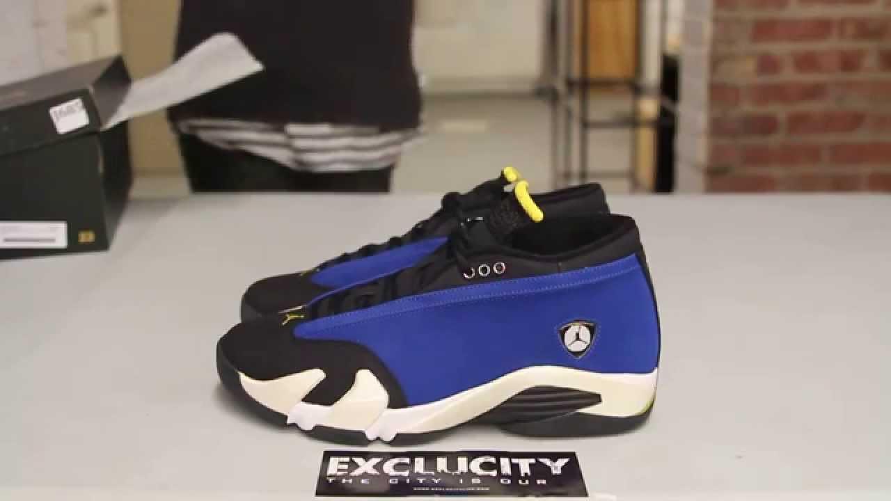 finest selection c27a5 854b5 Air Jordan 14 Low Retro