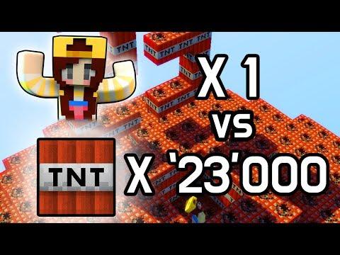 잠뜰 VS TNT 23000개 | 마인크래프트 애니메이션 [양양코믹스]