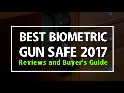 Best Biometric Gun Safe 2017 - Reviews and Buyer's Guide