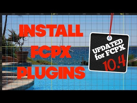 How To Install Plugins In Final Cut Pro Updated For Fcpx 10 4