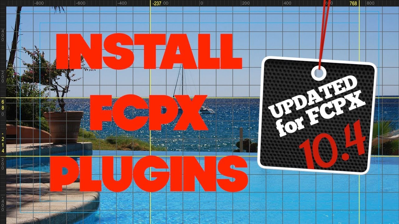 How to INSTALL PLUGINS in Final Cut Pro - UPDATED for FCPX 10 4