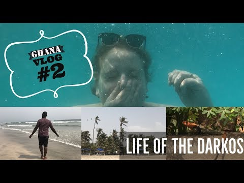 Ghana Vlog #2 | Labadi Beach and Night out in Osu