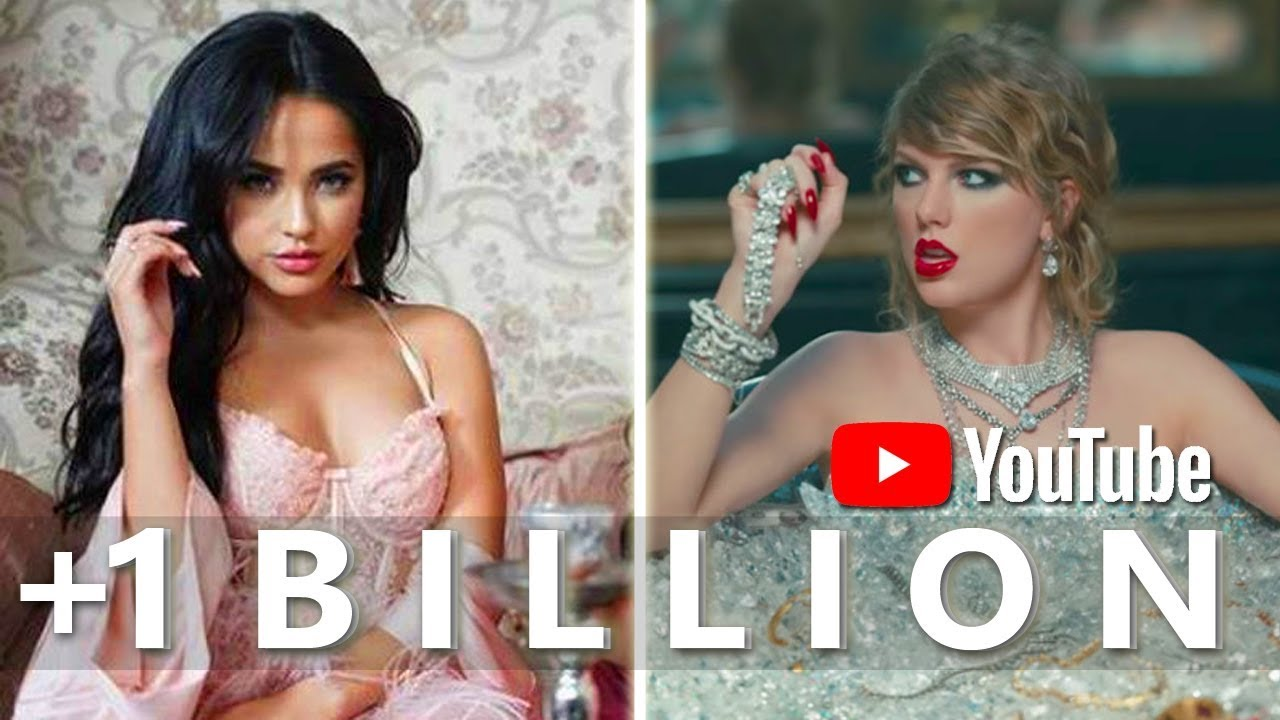 All Music Videos With 1 Billion Views On Youtube January 2019 Youtube