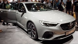 Opel Insignia GSi 2018 In detail review walkaround Interior Exterior