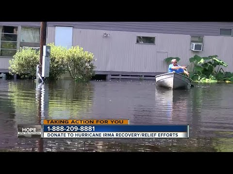 Flooding continues to impact people living near the Withlacoochee River