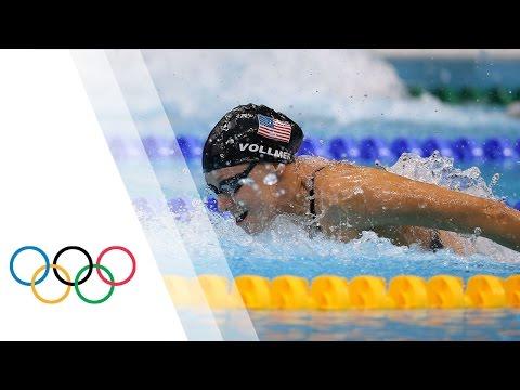Dana Vollmer breaks World Record - Women's 100m Butterfly | London 2012 Olympics Games