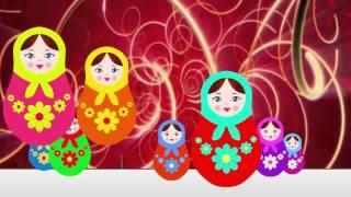 видео Развивающая детская игрушка - русская матрешка