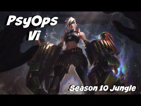 League of Legends: PsyOps Vi Jungle Gameplay