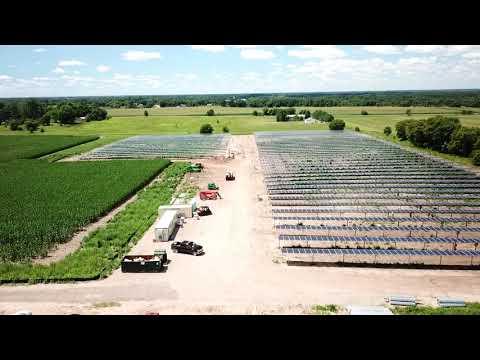 1.5MWdc Solar Site in Minnesota | RPCS