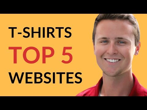 2018 Top 5 BEST Websites To Sell T-Shirt Designs