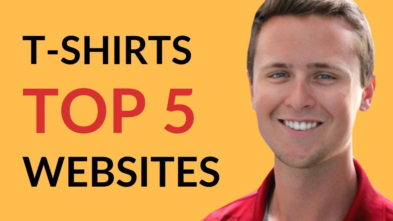 792717141 2019 Top 5 BEST Websites To Sell T-Shirt Designs - YouTube