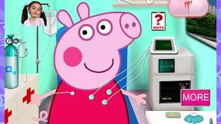 We treat peppa pig, Мы лечим пеппу, Свинка Пеппа в машине Скорой помощи