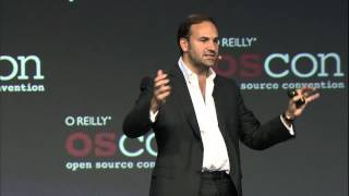 "OSCON 2012: Mark R. Shuttleworth, ""Making Magic From Cloud To Client"""