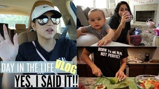 REAL DAY IN THE LIFE OF A SAHM VLOG // MOMLIFE, REAL TALK RANT, COOKING,