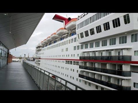 Carnival Paradise Cruise Part 1, Tampa FL