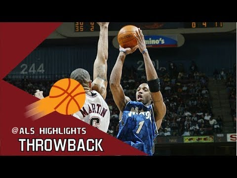 Tracy McGrady NASTY Triple Double 2003.02.23 at Nets - UNREAL 46 Pts, 10 Rebs, 13 Ast!