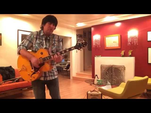 Happy Blues - Martin Blasick - Samick JZ2 guitar