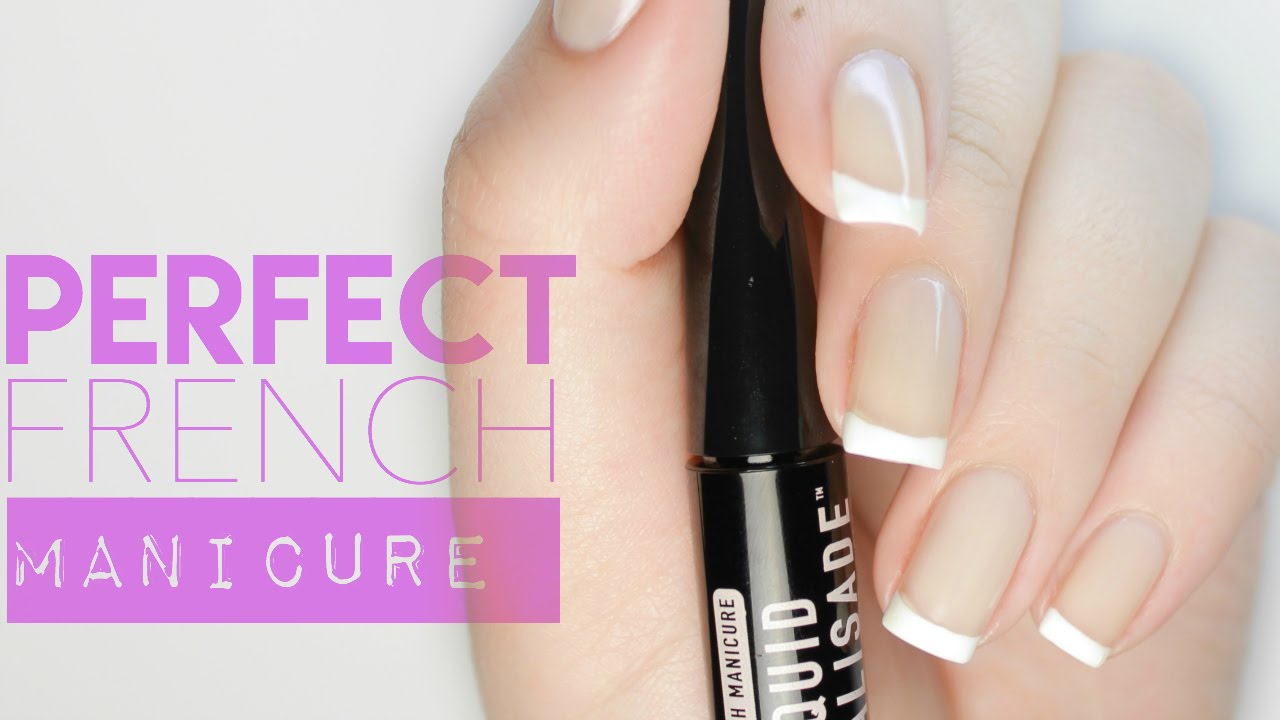 PERFECT FRENCH MANICURE?! | Liquid Palisade Review - YouTube