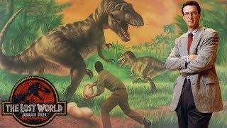 The Greatest Part of The Lost World Novel - Michael Crichton's Jurassic Park