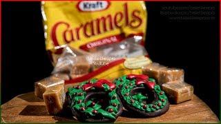 Easy Chocolate KRAFT Caramels Christmas Wreaths Tutorial