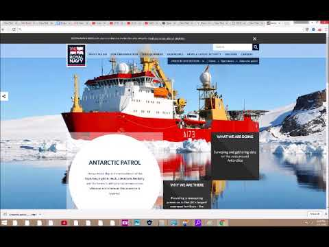 Antarctic Ice Patrol by Nations