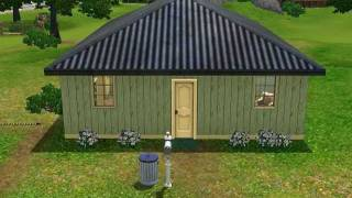 The Sims 3 Shotgun House Make-over