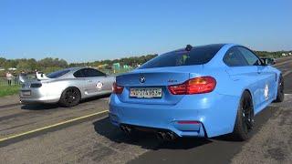 Toyota Supra Vs. BMW M4 Vs. BMW M3 G-Power Vs. 9ff Porsches