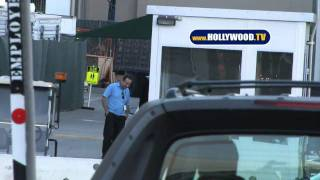 Celebrities Leave CBS Studios