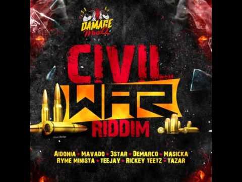 Civil War Riddim - mixed by Curfew 2015