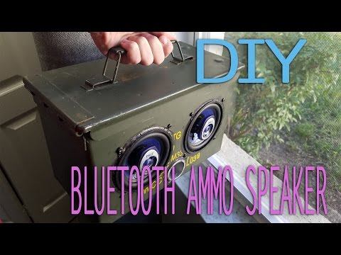 How to Build a Ammo Box Speaker/Bluetooth | Easy DIY | Part 1