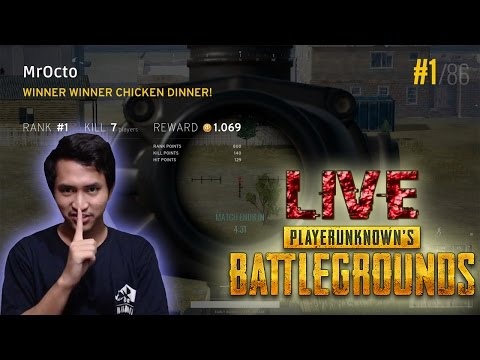 KEJAR RANK 1 [JIKA MAMPU] - PlayerUnknown's Battlegrounds Indonesia LIVE