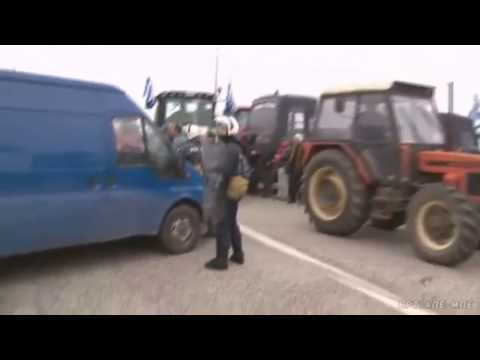 GREEK  Farmers Fight Against  Poverty 2017