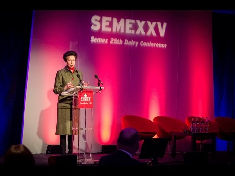 Semex UK Conference 2015 - HRH The Princess Royal