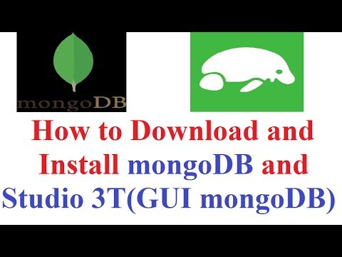 How to Download and Install mongoDB and Studio 3T(step by step tutorial)