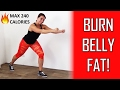 20 Minute Fat Burning Cardio Workout - How To Lose Belly Fat For Women, Men And Teenagers