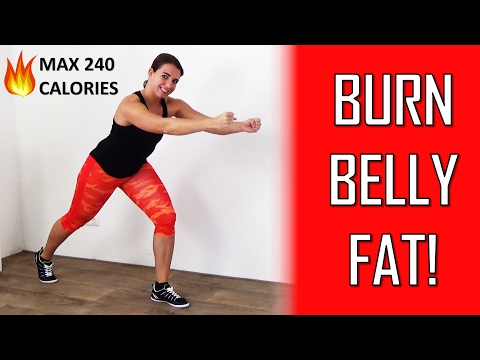 20 Minute Fat Burning Cardio Workout – How To Lose Belly Fat For Women, Men And Teenagers