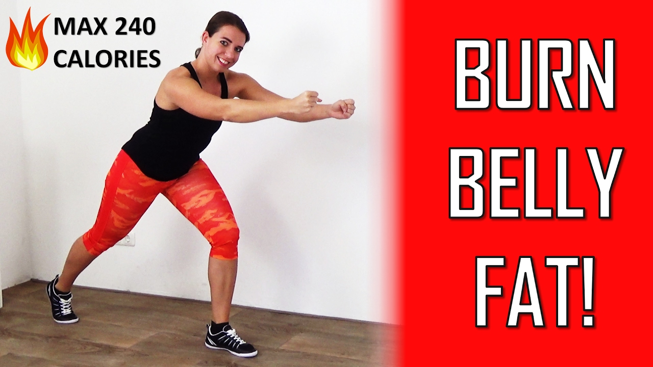 burn belly fat exercise videos