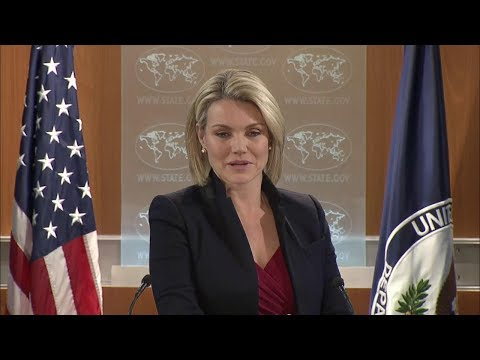 Department Press Briefing - December 13, 2017