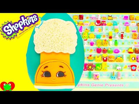 Shopkins Season 3 Limited Edition Hunt and Snug Ugg Play Doh Egg