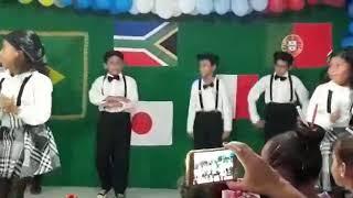 Festa da escola do meu filho Andrey