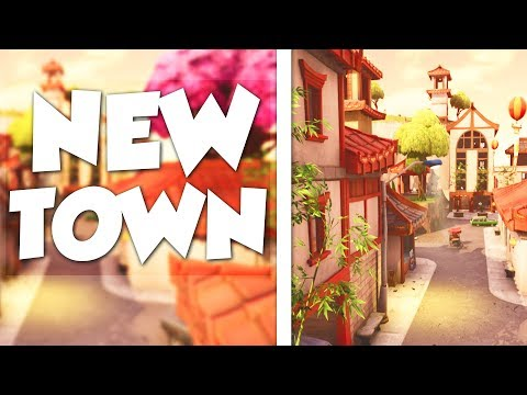 """NEW CHINESE TOWN LOCATION!! """"LUCKY LANDING"""" (Fortnite Battle Royale)"""