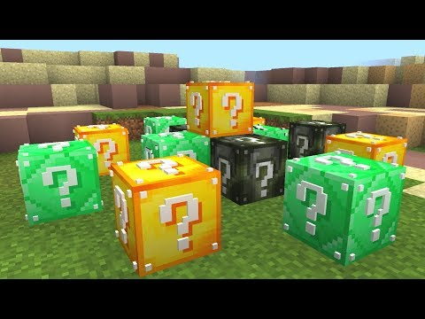 MINECRAFT MILITARY LUCKY BLOCK HUNGER GAMES