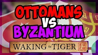 HOI4 Waking The Tiger - Byzantium And Ottomans Fight For Constantinople Hearts of Iron 4