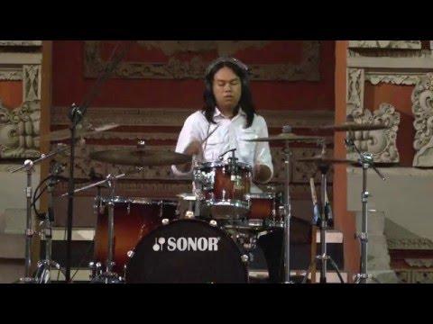 Ujian Instrumen Mayor (Drum) Prodi Musik FSP ISI Denpasar #AAN