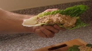 Healthy Tuna Lettuce Wraps Recipe