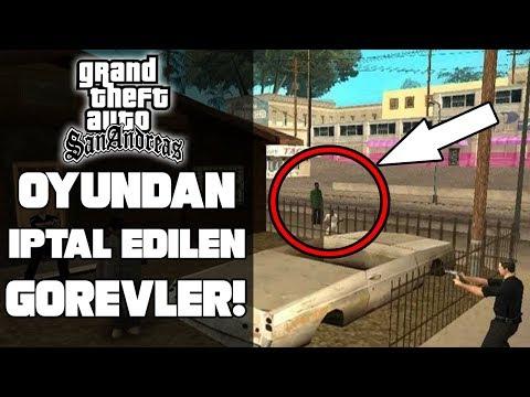 GTA SAN ANDREAS'IN İPTAL OLAN GÖREVLERİ! - (GTA SAN BETA)