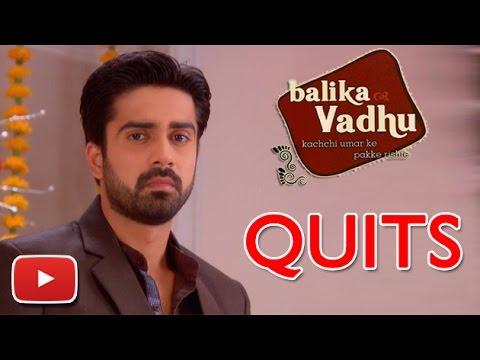 Avinash Sachdev Aka Dr.Amit To QUIT Balika Vadhu | TV Prime Time