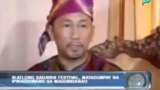 [Balitaan] Ikatlong Sagayan Festival, matagumpay na ipinagdiwang sa Maguindanao [02|13|14]